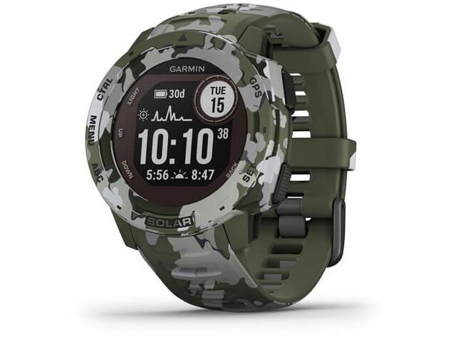Garmin Instinct Solar Camo GPS Smartwatch green